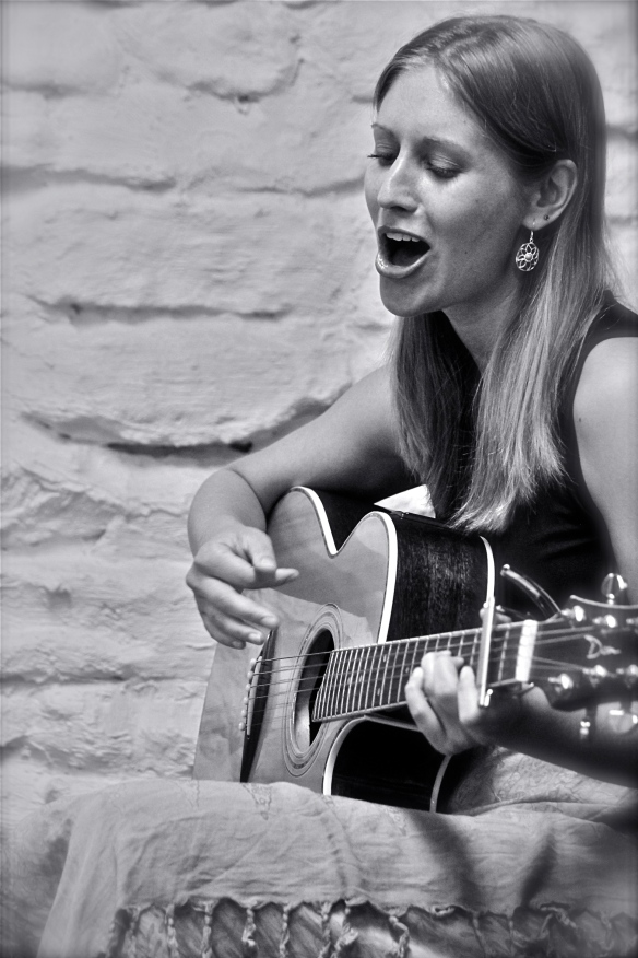 Allison Merten Performing at Live Music in the Lounge (Madison, WI)Photo by Bassam Afandi