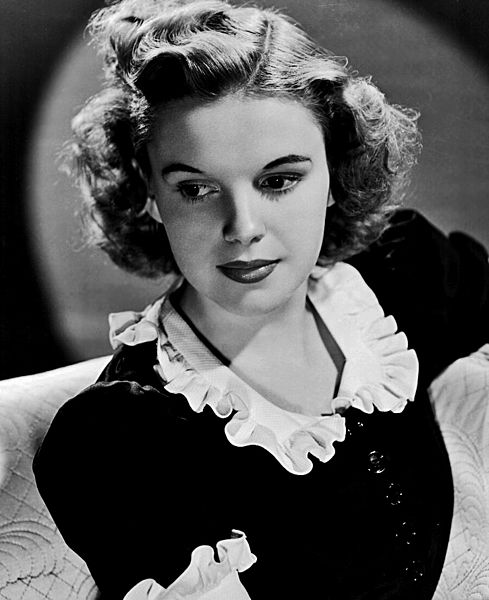 Judy Garland Courtesy of Wikipedia