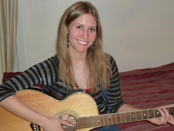 Allison Merten with Guitar