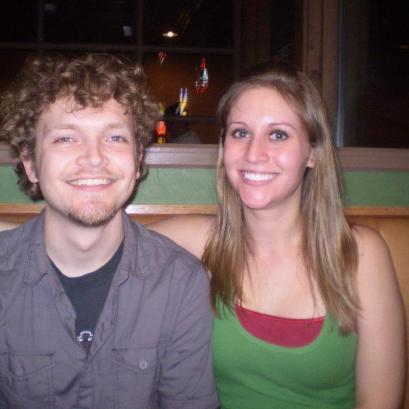 "Caleb Behnke & Allison Merten""The Author and the Musician/Editor"" ;-)"