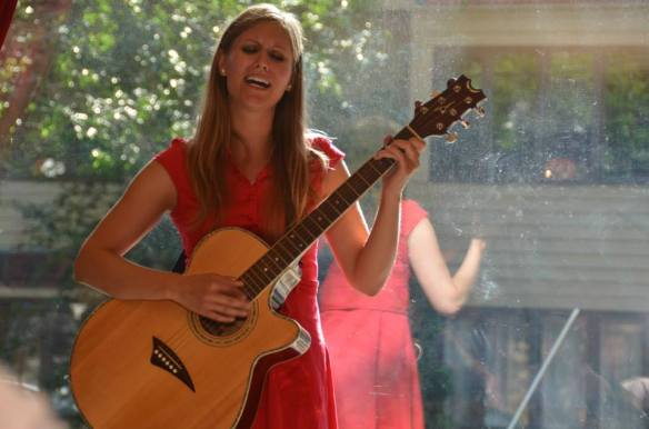 Allison Merten Performing at the Froth House Photo by Nathaniel Hope