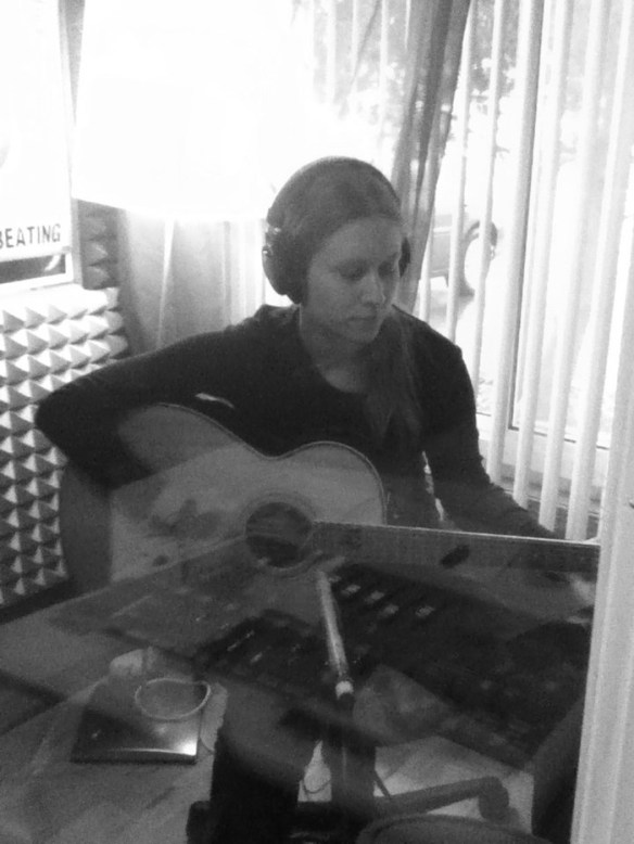 Allison Merten Recording at Willie Martinez's Studio