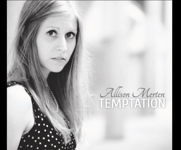 ALLISON MERTEN TEMPTATION CD COVER