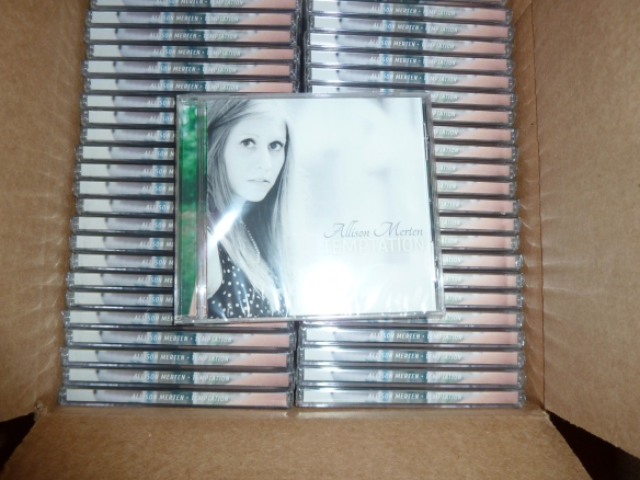ALLISON MERTEN TEMPTATION CDS
