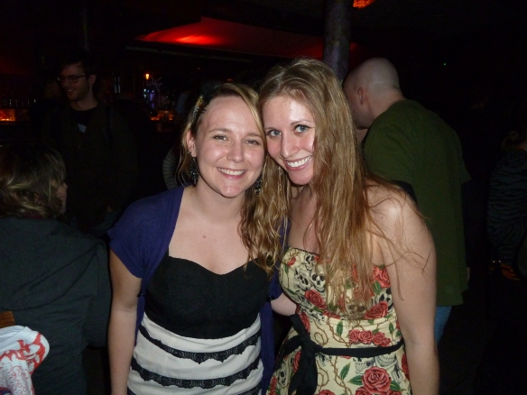With Amber Sebastian after Soundless' CD Release Show