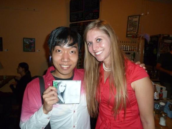 With Kazuki Honda