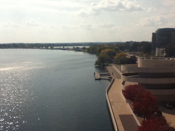 View from the Monona Terrace Rooptop