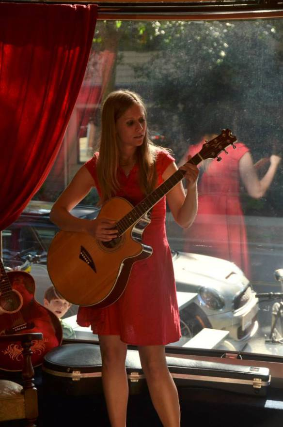 Performing at the Froth House Photo by Nathaniel Hope