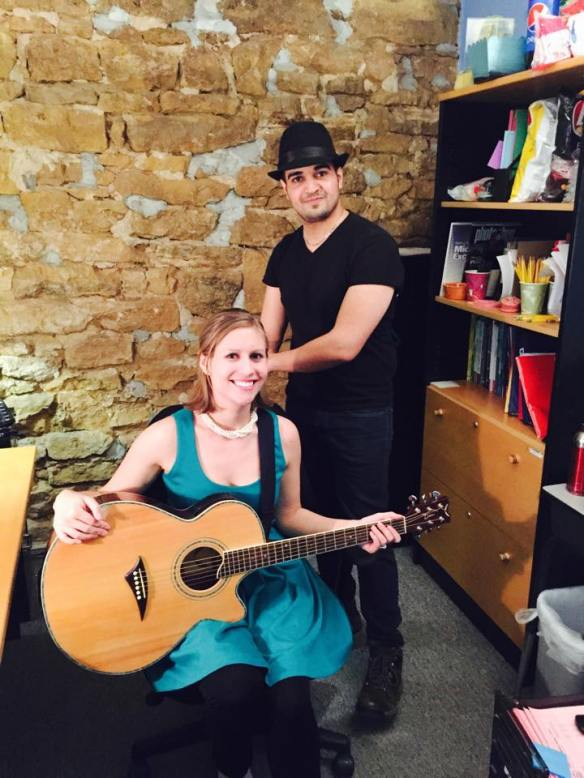 Allison Merten and Yasir Alhumaidan Tiny Desk Concert Contest Submission