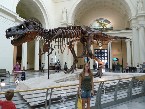 With Sue the Dinosaur
