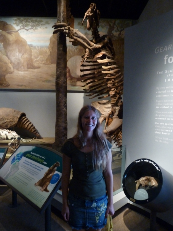 With GIANT SLOTH! :-)