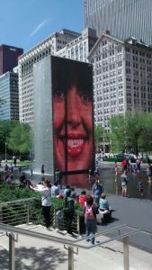 Crown Fountain Millennium Park
