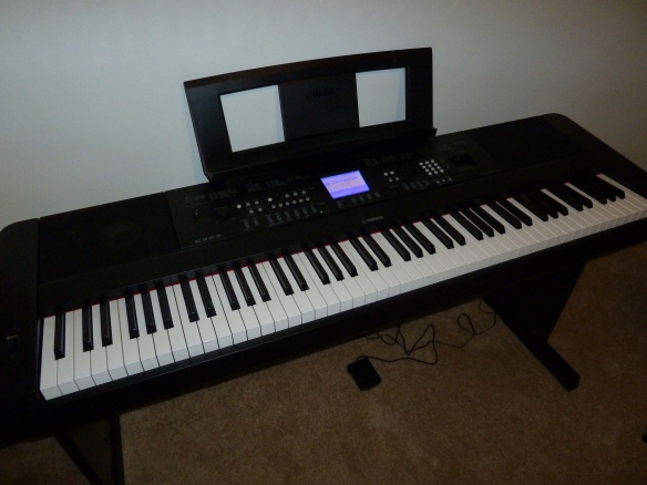 Allison Merten Yamaha DGX650B Full Sized Keyboard