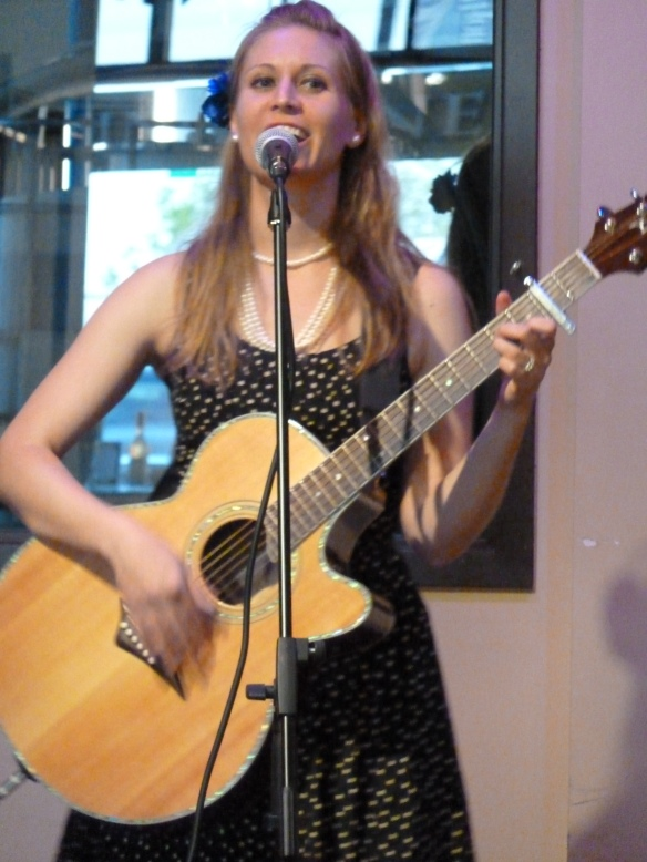 Allison Merten at Fisher King Winery