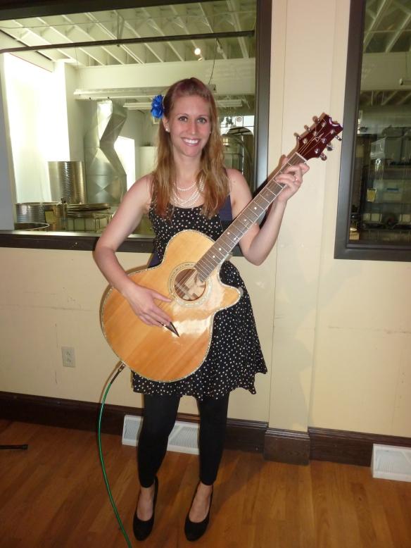 Allison Merten at Fisher King Winery