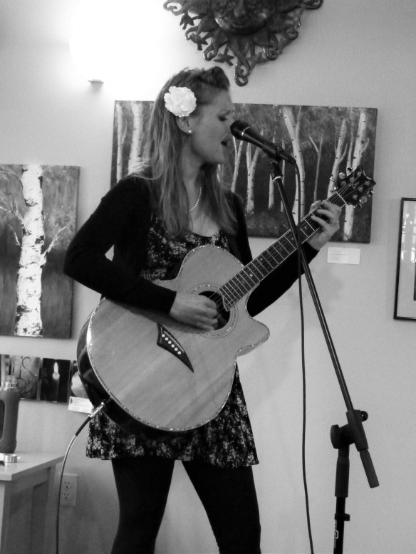 Allison Merten at Tuvalu Coffeehouse