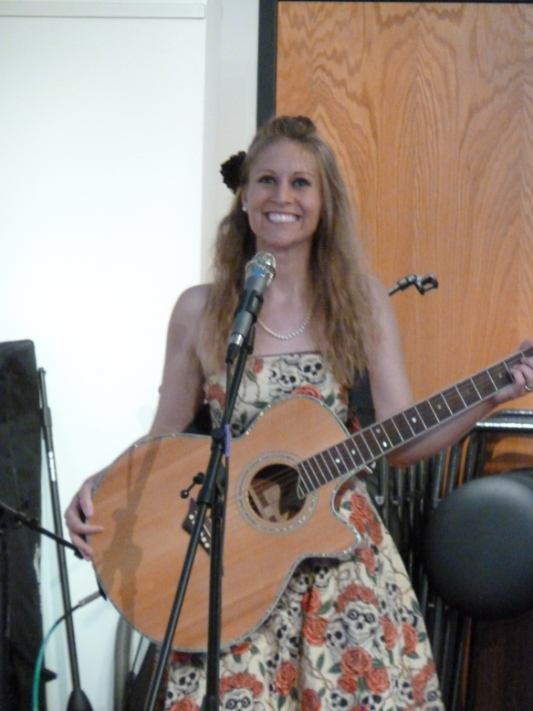 Allison Merten at Bos Meadery