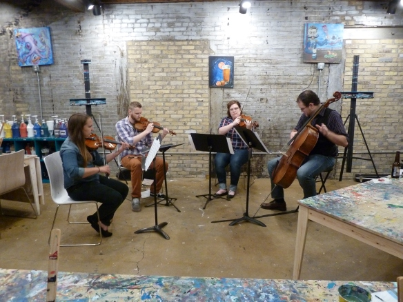 Echleon String Quartet @ PaintBar Madison